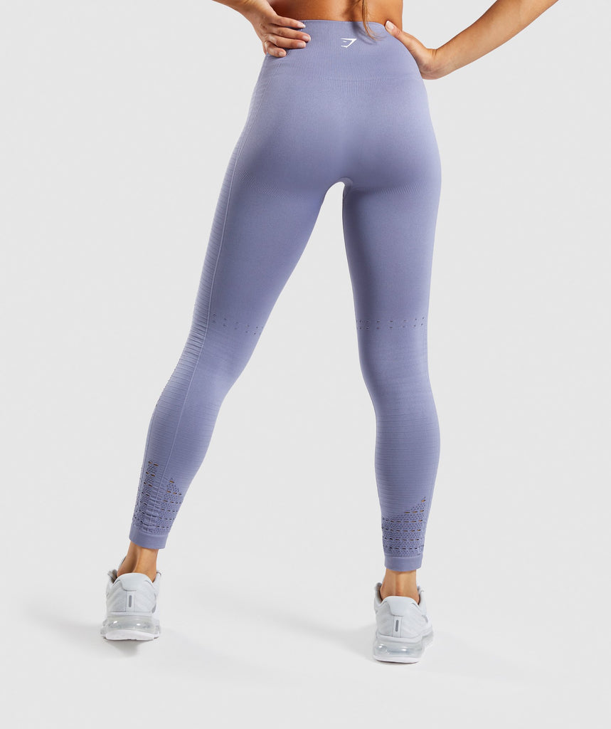Gymshark Energy+ Seamless Leggings - Steel Blue 2