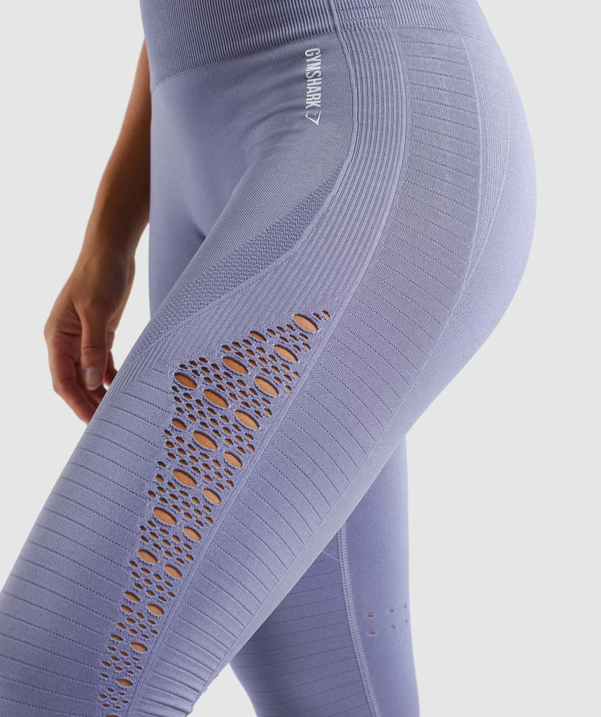Gymshark Energy+ Seamless Leggings - Steel Blue 5