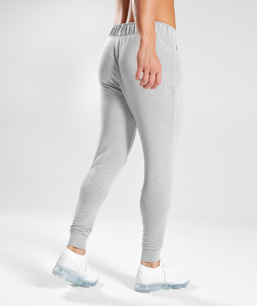 Gymshark Enlighten Bottoms - Light Grey 2