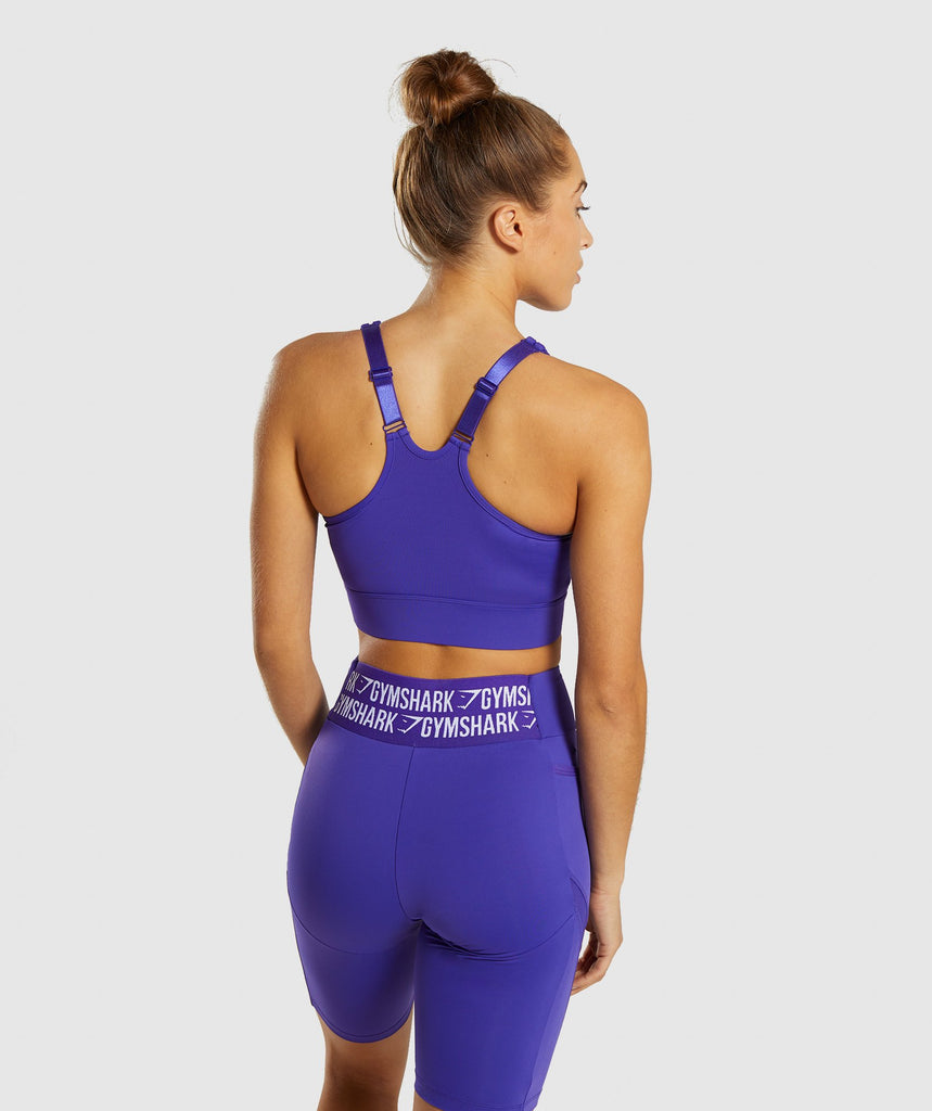 Gymshark Elevate Sports Bra - Indigo 2