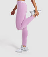 Gymshark Fit Leggings - Pink 9