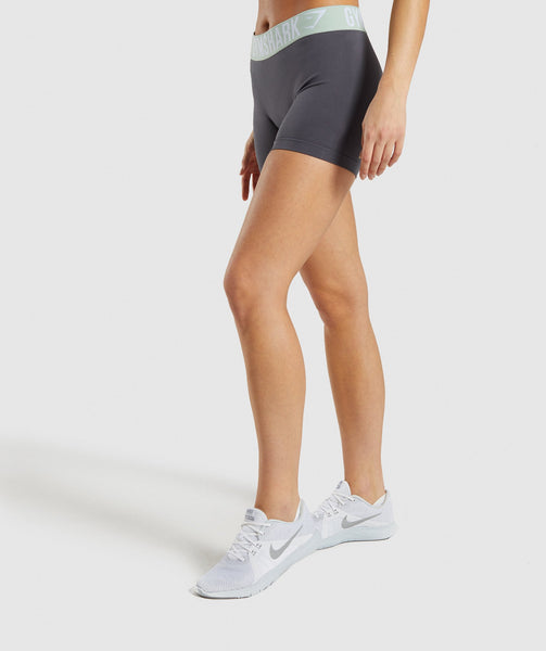 Gymshark Fit Shorts - Grey 2