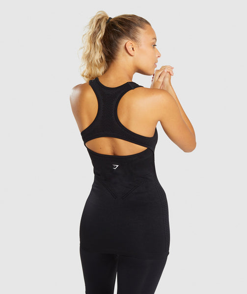 Gymshark Flawless Knit Vest - Black 1