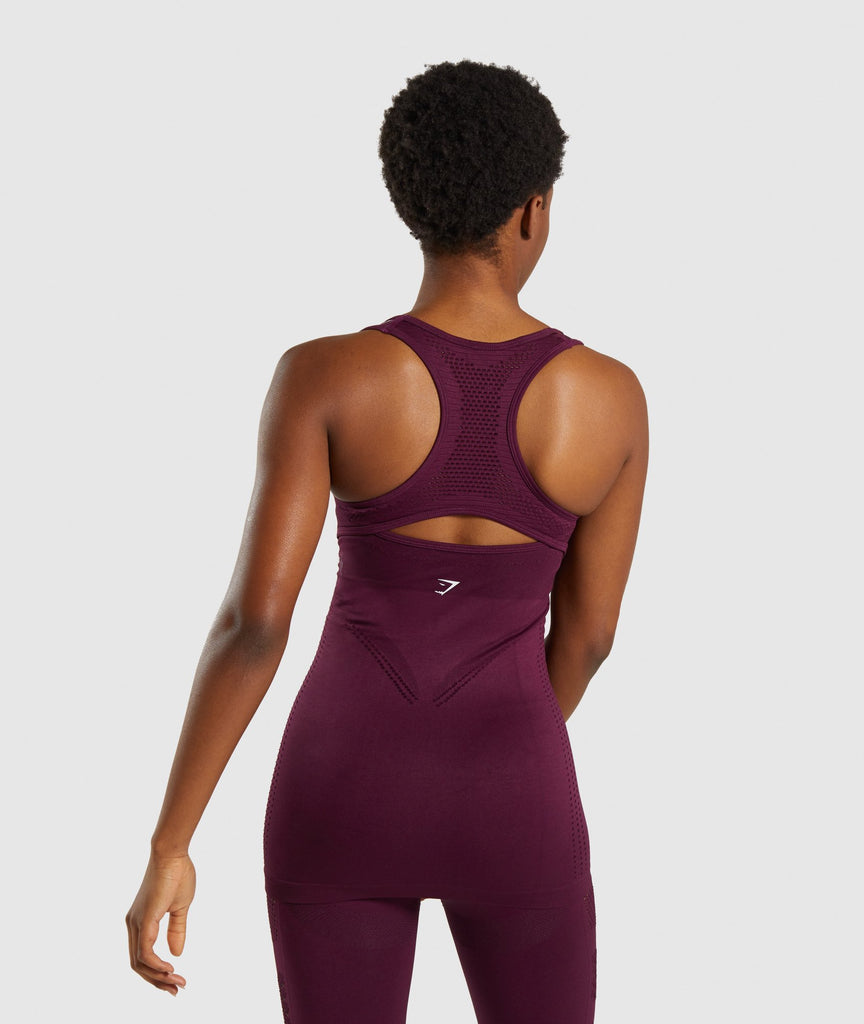 Gymshark Flawless Knit Vest - Ruby 2