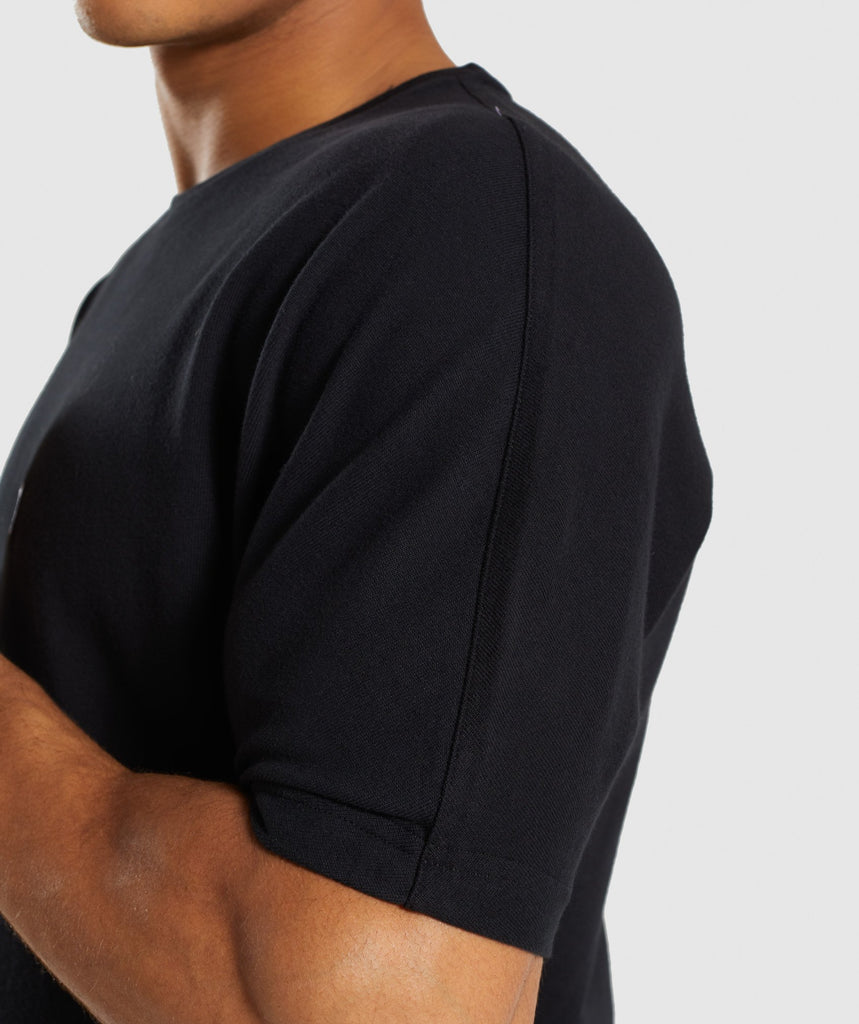 Gymshark Fresh T-Shirt - Black 6