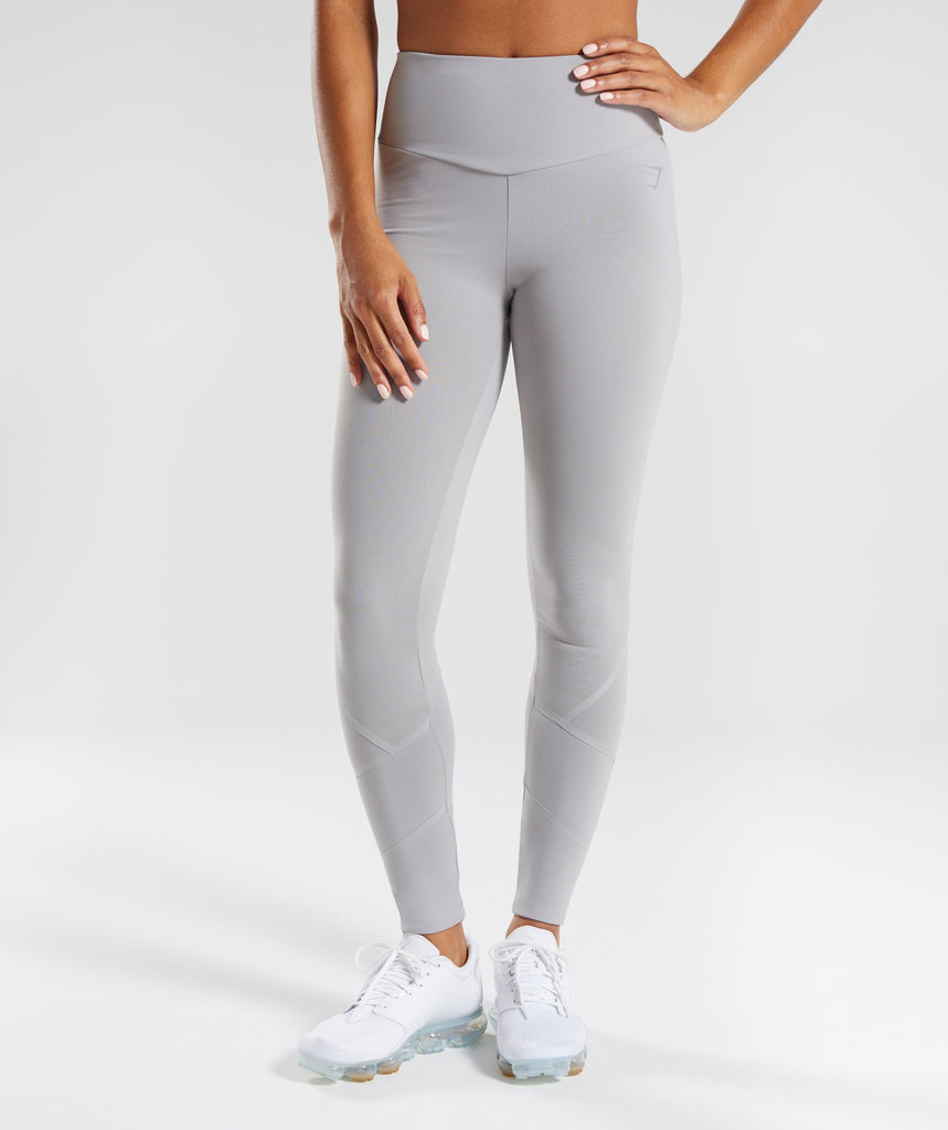 Gymshark Fused Ankle Leggings - Light Grey 1