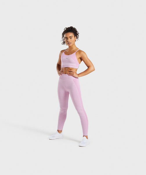 Gymshark Flex Strappy Sports Bra - Pink 3