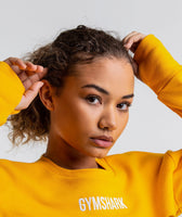 Gymshark Super Cropped Sweater - Citrus Yellow 12