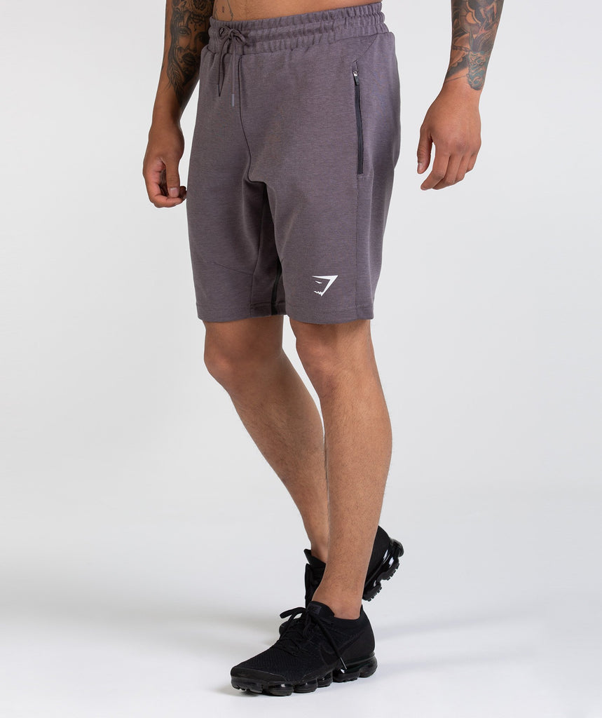 Gymshark Take Over Shorts - Slate Lavender Marl 1