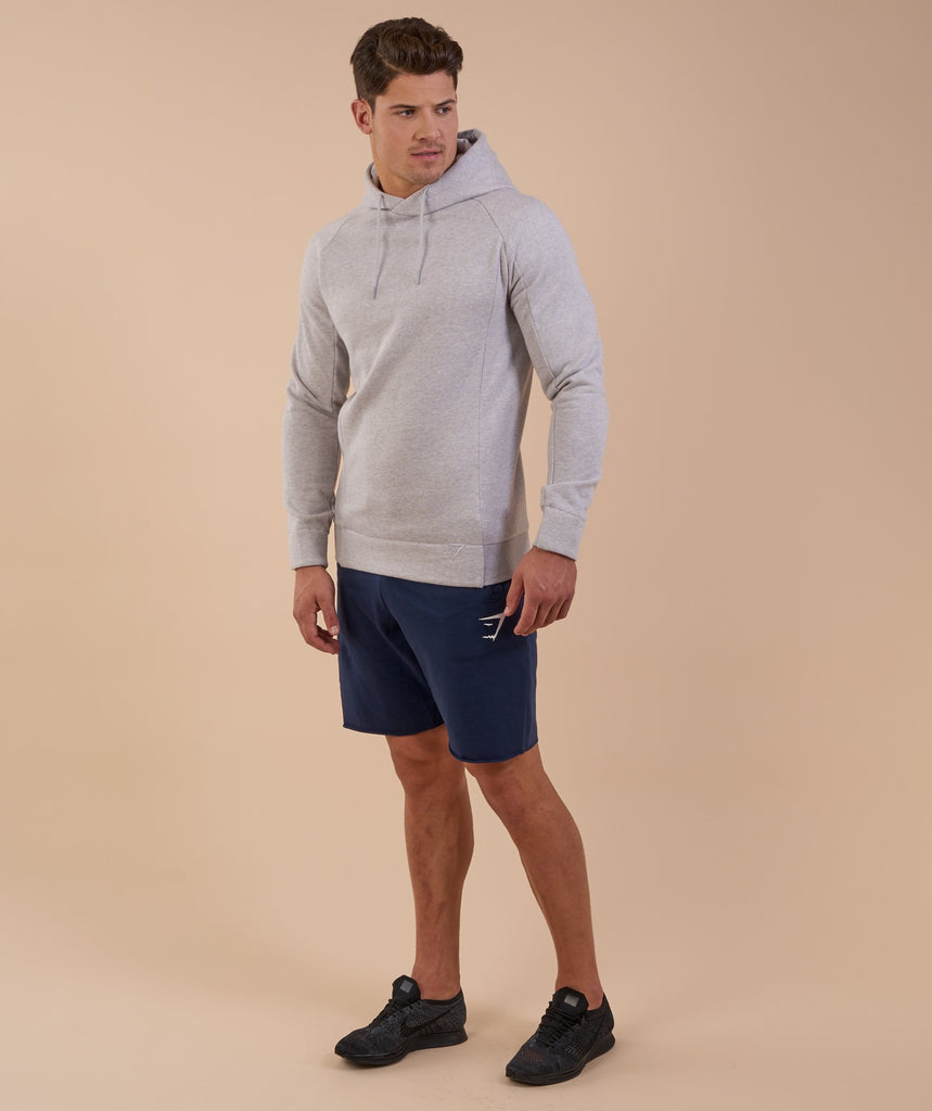 Gymshark Oversized Hoodie - Light Grey Marl 5
