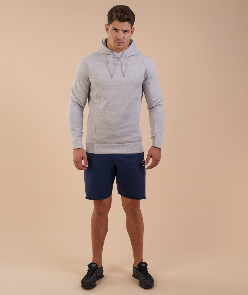 Gymshark Oversized Hoodie - Light Grey Marl