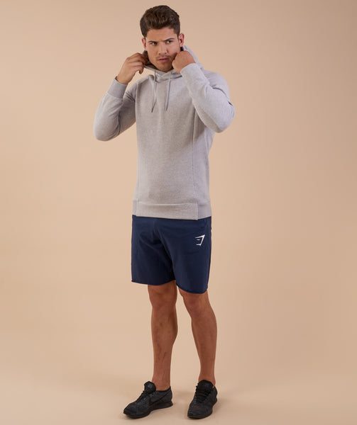 Gymshark Oversized Hoodie - Light Grey Marl 2