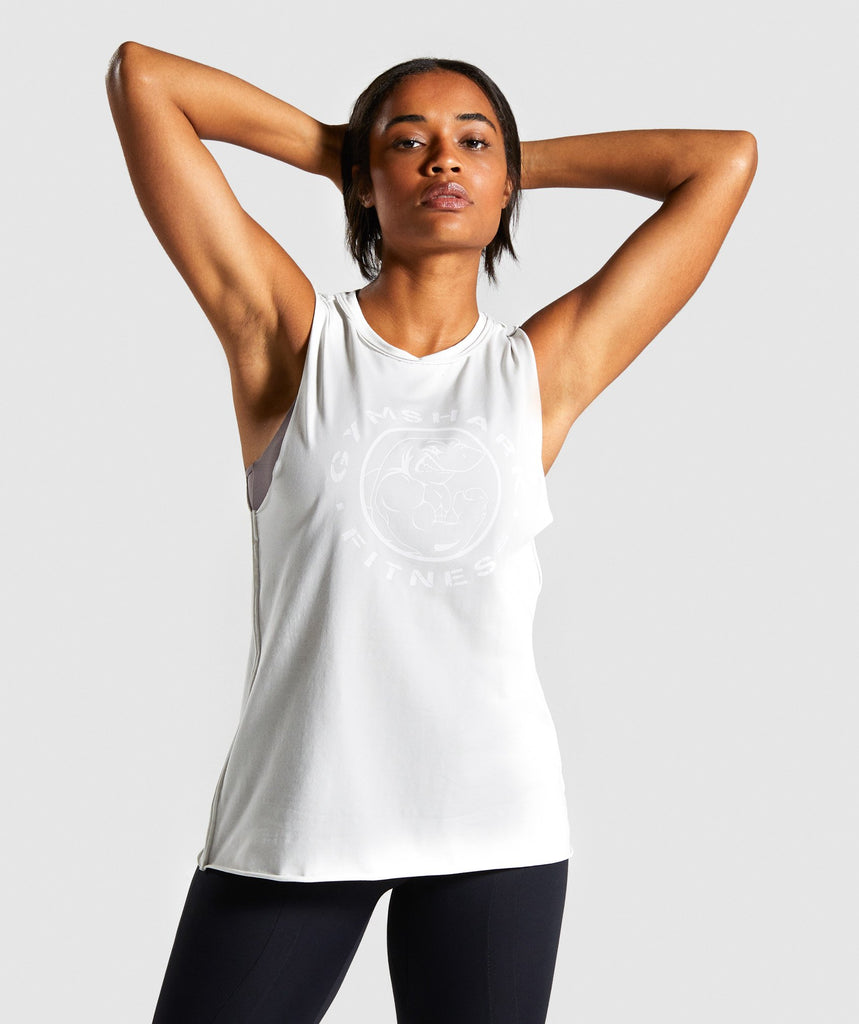 Gymshark Legacy Fitness Tank - Light Grey 1