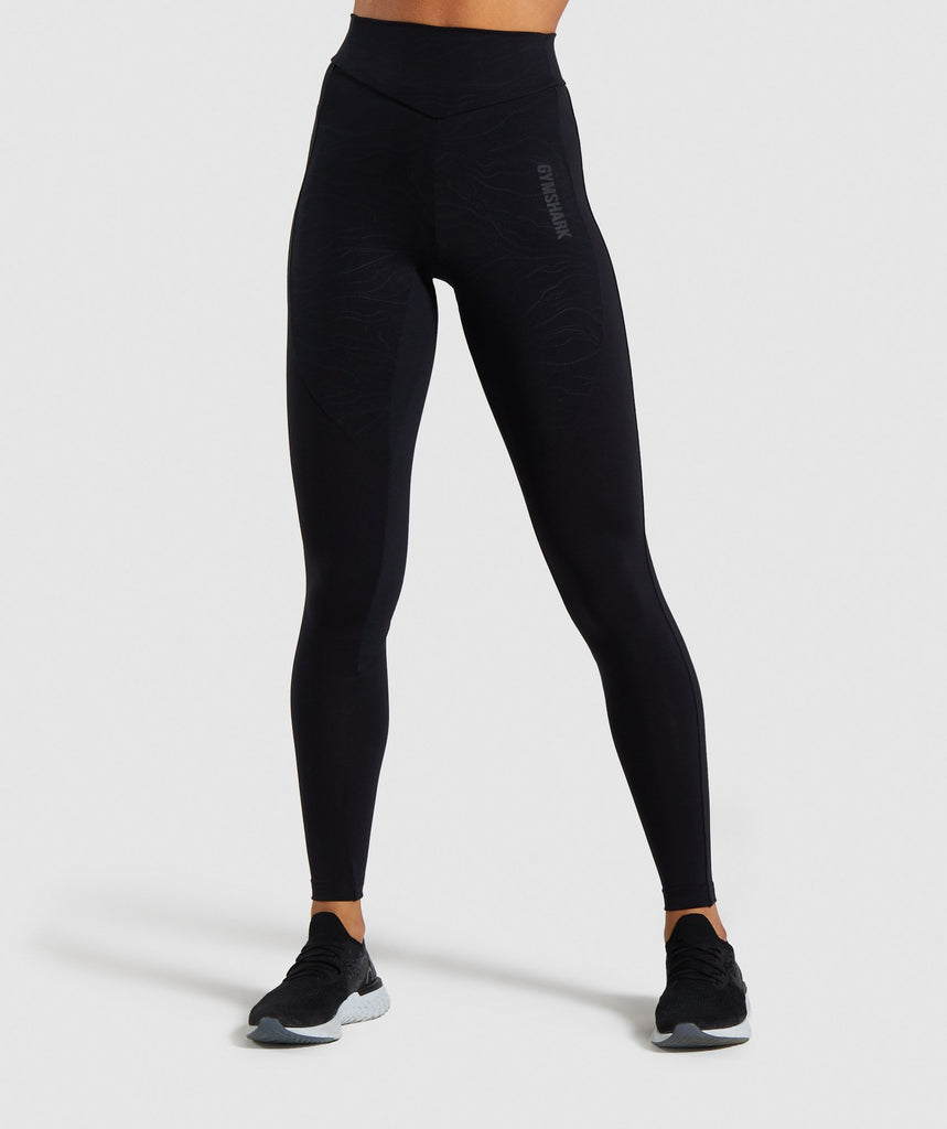 Gymshark Lustre Leggings - Black 1