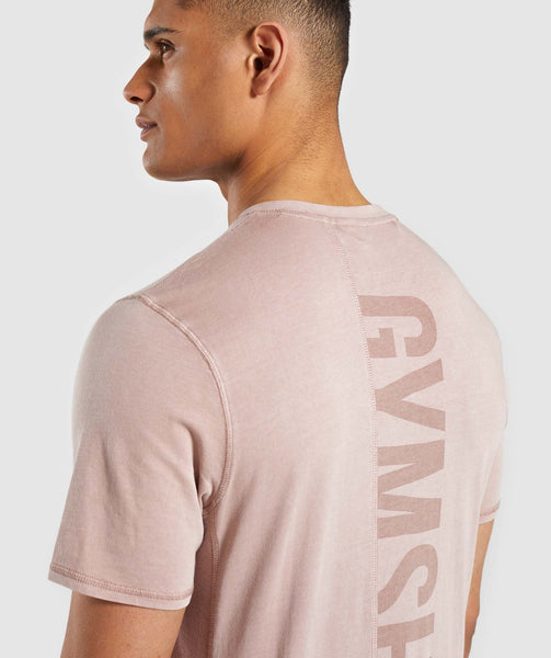Gymshark Laundered T-Shirt - Nude 3