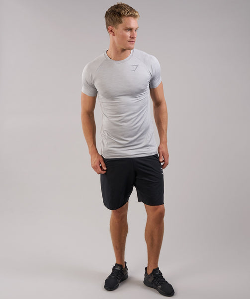Gymshark Apex T-Shirt - Light Grey Marl 4
