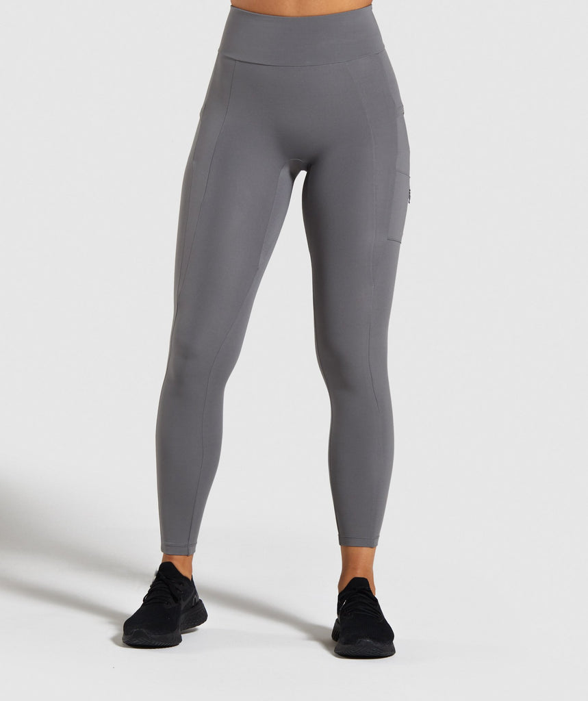 Gymshark Non Stop Leggings - Grey 1