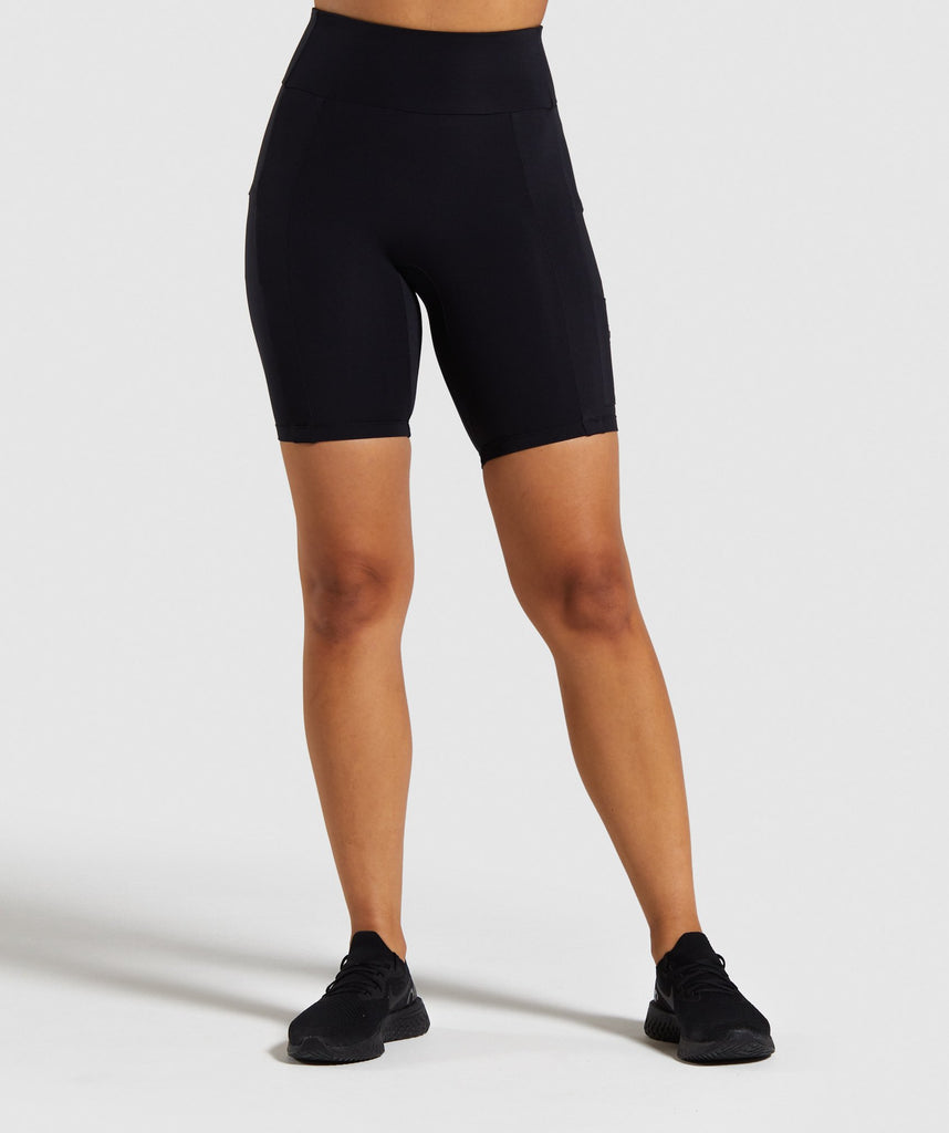 Gymshark Non Stop Cycling Shorts - Black 1