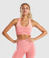 Gymshark Ombre Seamless Sports Bra - Peach Coral 7