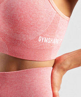 Gymshark Ombre Seamless Sports Bra - Peach Coral 11