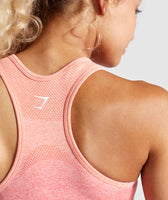 Gymshark Ombre Seamless Sports Bra - Peach Coral 12