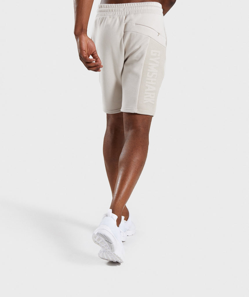 Gymshark Orbit Short - Light Grey 2