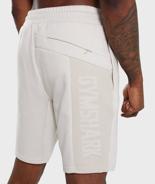 Gymshark Orbit Short - Light Grey 4
