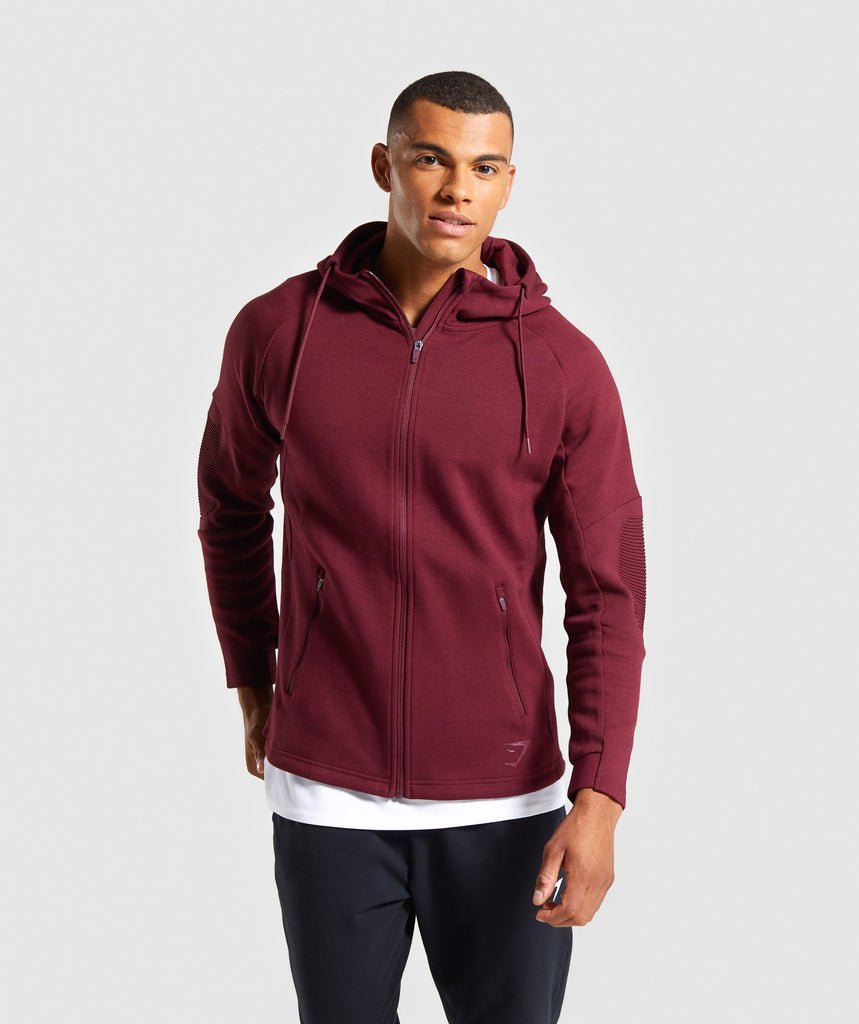 Gymshark Ozone Zip Up Hoodie - Port 1