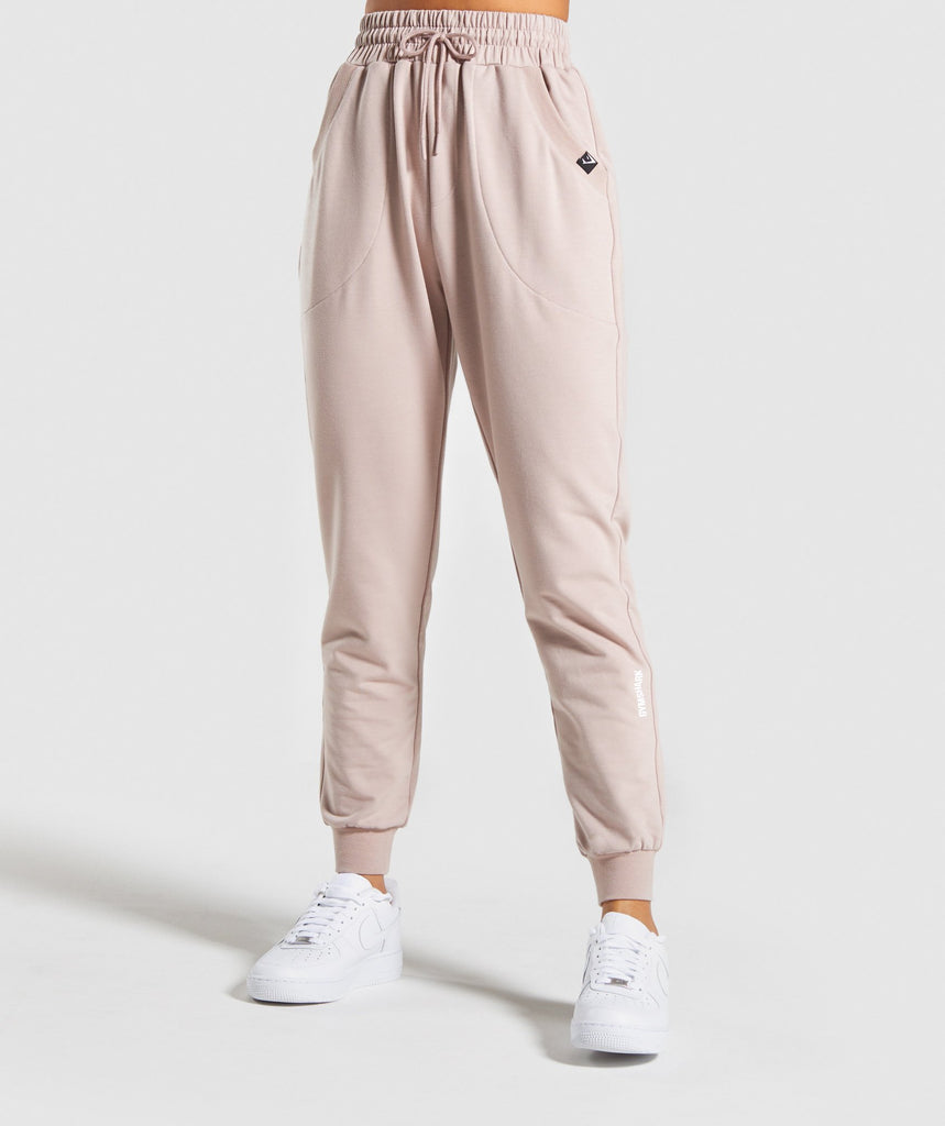 Gymshark Power Down Joggers - Taupe 1