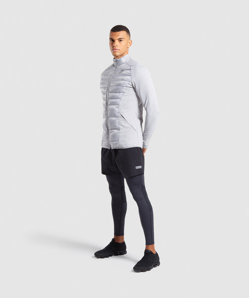 Gymshark Power Lightweight Jacket - Light Grey 3