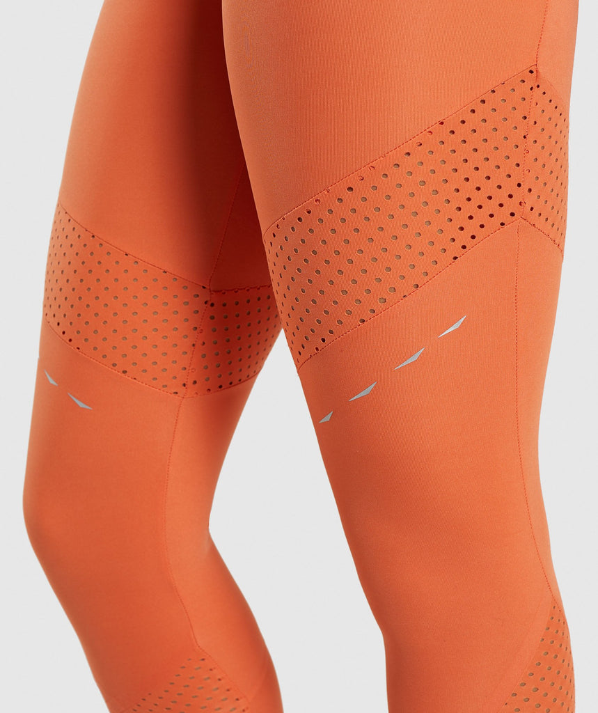 Gymshark Pro Perform Leggings - Burnt Orange 5