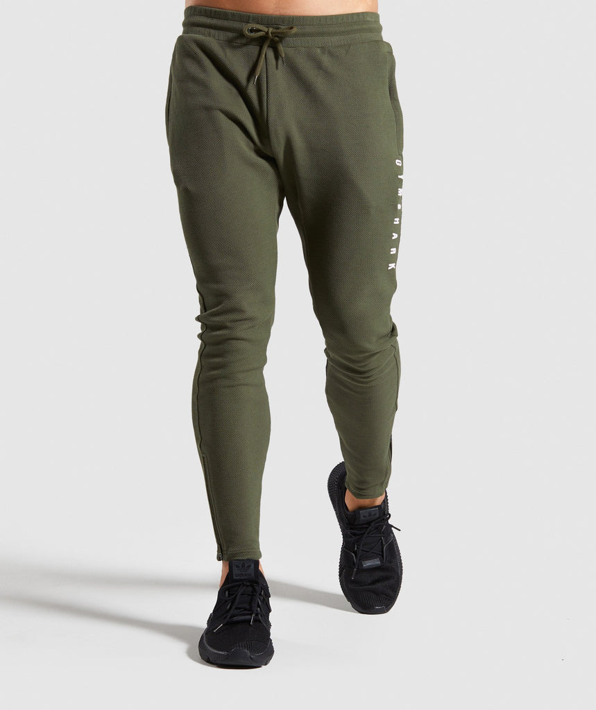 Gymshark Recharge Joggers - Green 1