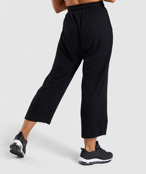 Gymshark Relaxed Joggers - Black 1