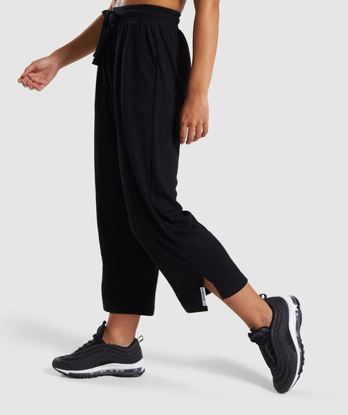 Gymshark Relaxed Joggers - Black 2