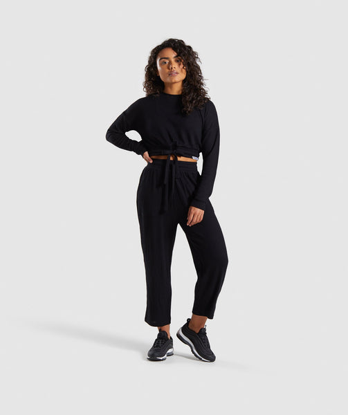 Gymshark Relaxed Joggers - Black 3