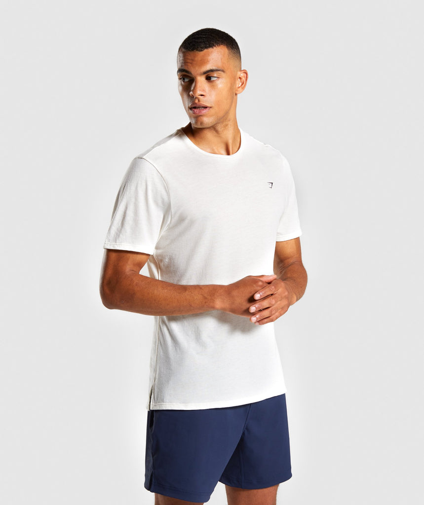 Gymshark Studio T-Shirt - White 1