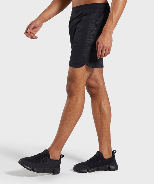 Gymshark Shadow Shorts - Black 2