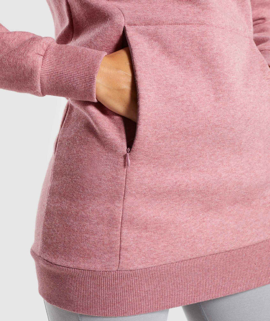 Gymshark So Soft Sweater - Dusky Pink Marl 6