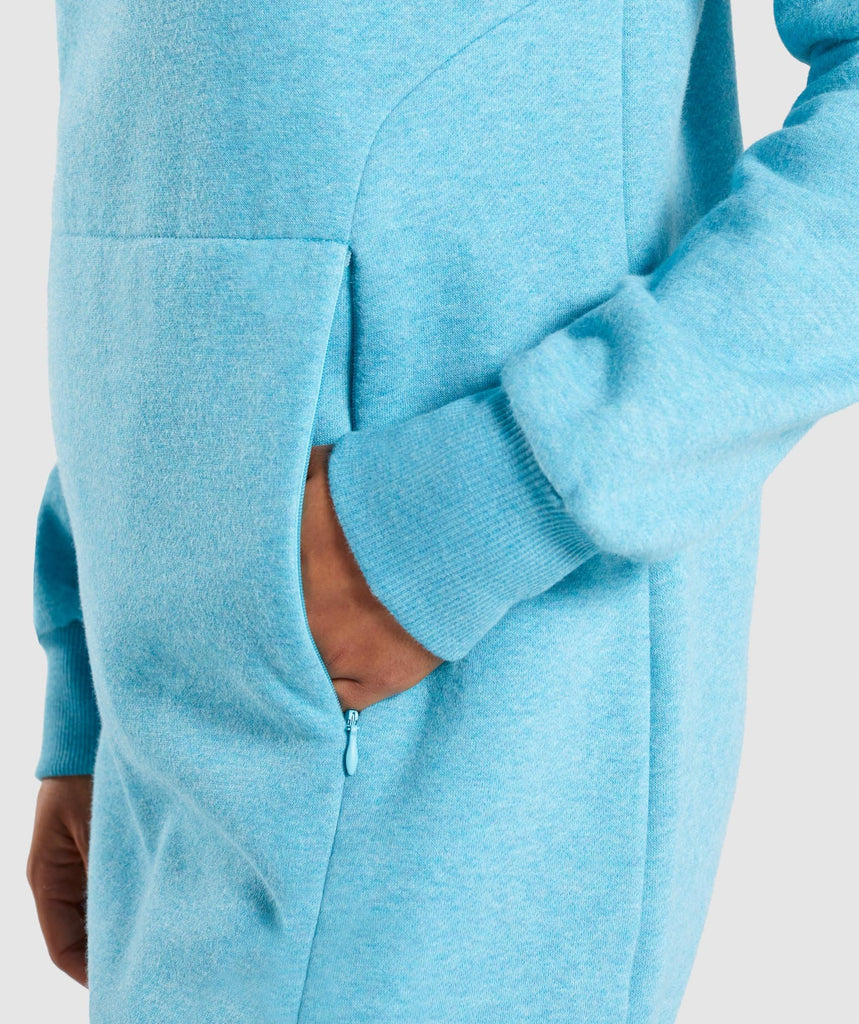 Gymshark So Soft Sweater - Dusky Teal Marl 6
