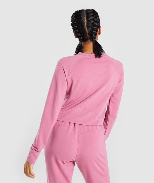 Gymshark Solace Sweater 2.0 - Dusky Pink 1