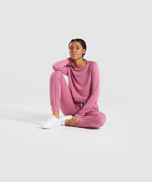 Gymshark Solace Sweater 2.0 - Dusky Pink 3