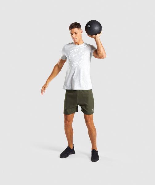 Gymshark Sport Shorts - Woodland Green 3