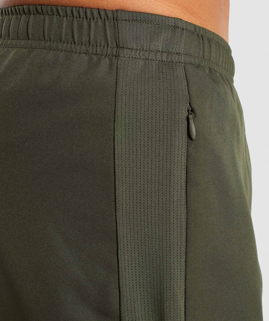 Gymshark Sport Shorts - Woodland Green 6