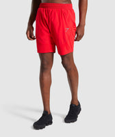 Gymshark Staple Short - Red 7