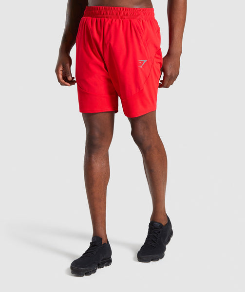 Gymshark Staple Short - Red 4