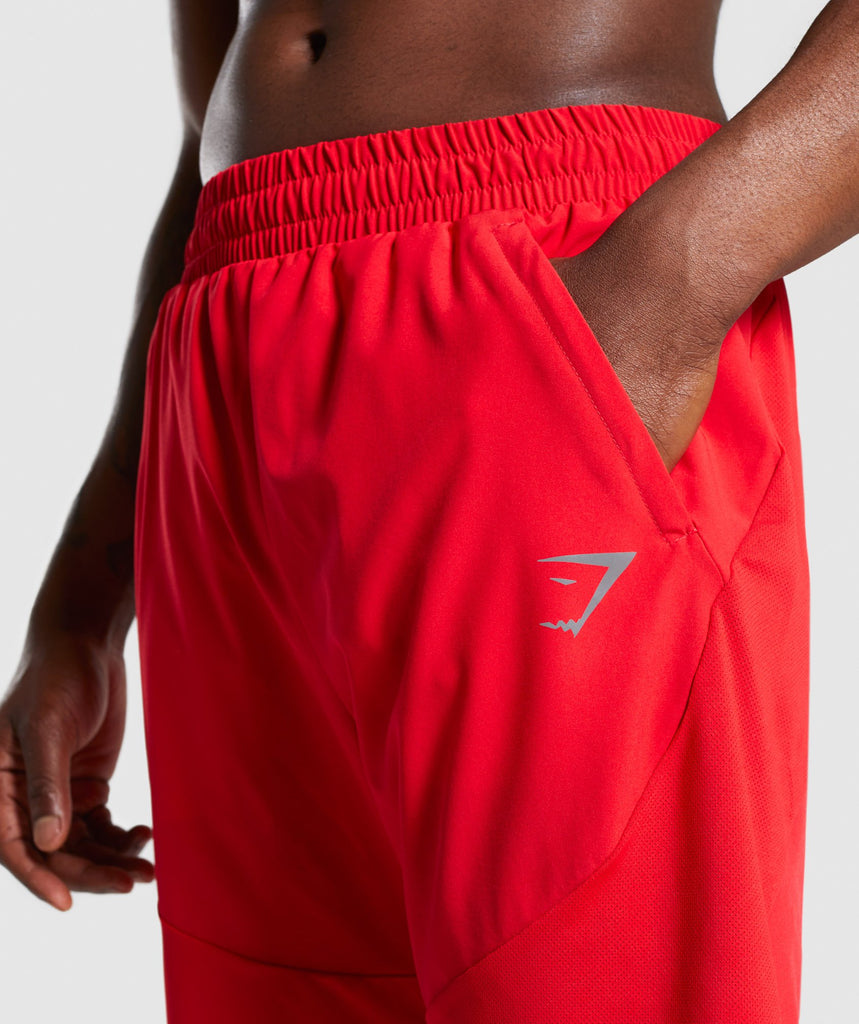 Gymshark Staple Short - Red 5
