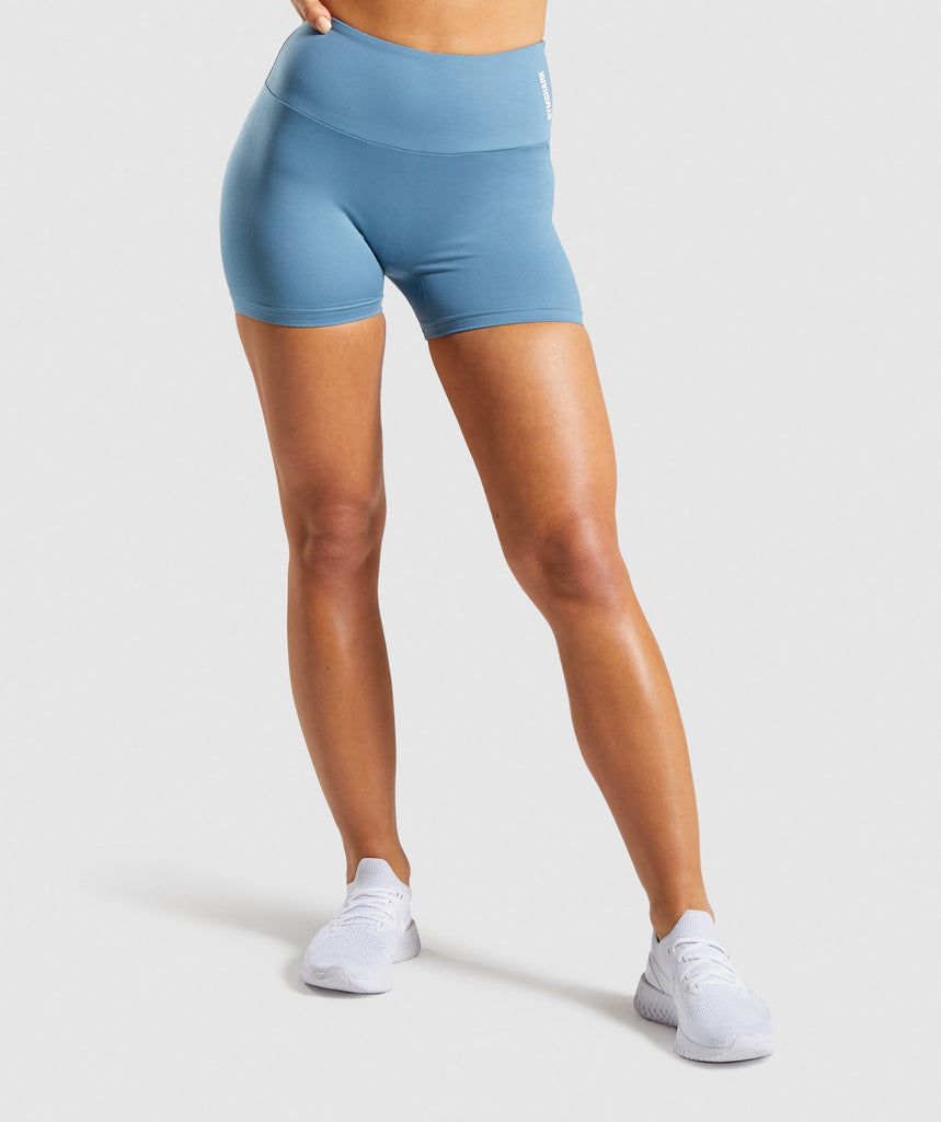 Gymshark Training Shorts - Blue 1