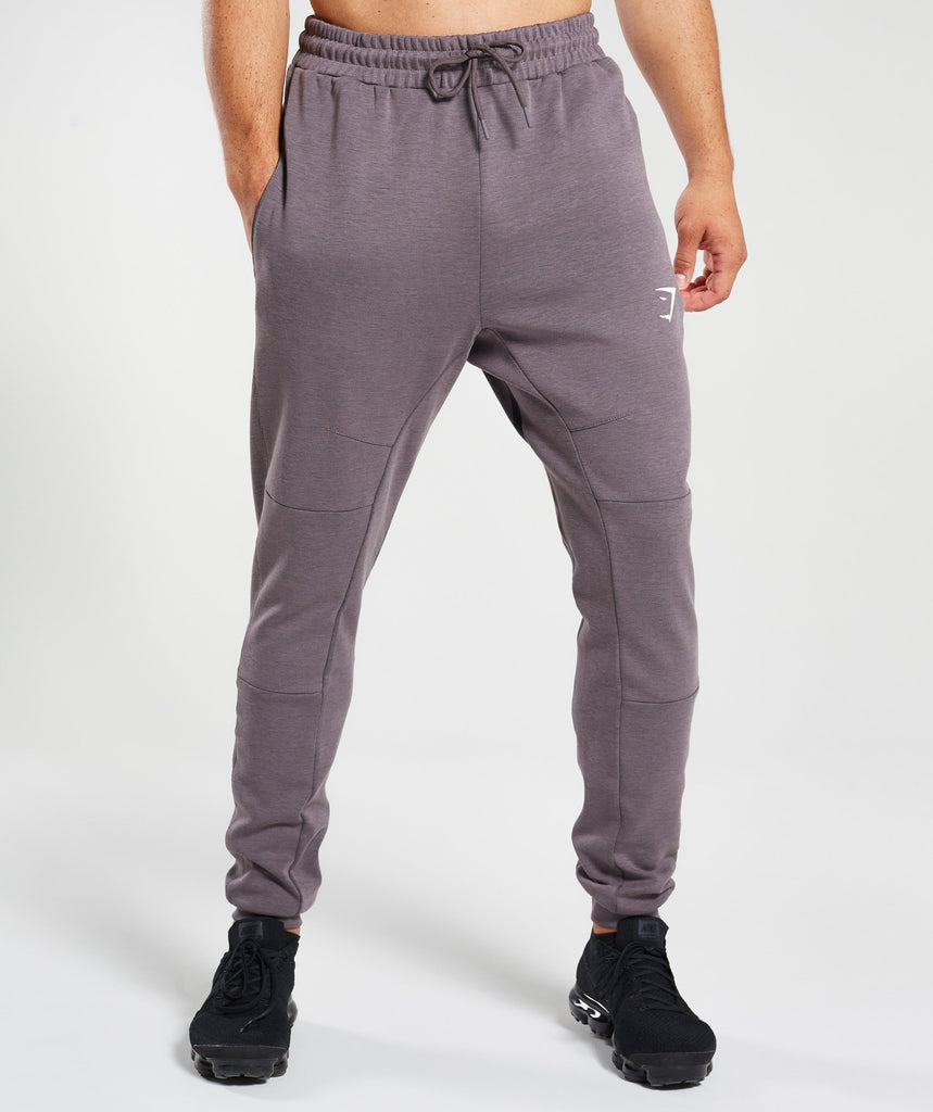 Gymshark Take Over Bottoms - Slate Lavender Marl 1
