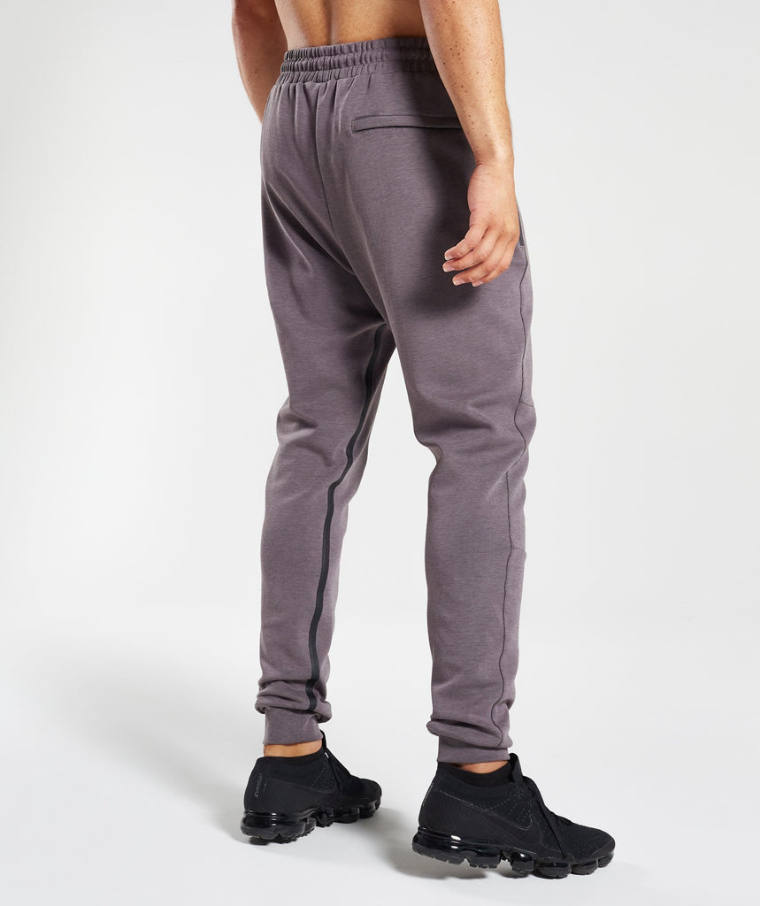 Gymshark Take Over Bottoms - Slate Lavender Marl 2