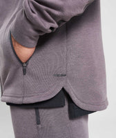 Gymshark Take Over Zip Hoodie - Slate Lavender Marl 12
